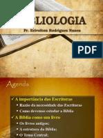 Bibliologia - Introdução - Aula 01