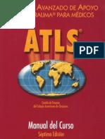 Atls - Apoyo Vital Avanzado en Trauma Para Médicos