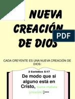 La Nueva Creacion de Dios