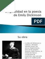 Originalidad en La Poesía de Emily Dickinson