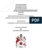 Progressive List For Peace Press Statement