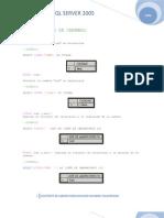 Funciones SQL Server 2005x