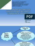 La Precariedad Del Empleo en Venezuela