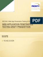 SEC542 CTF Draft Presentation