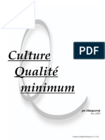Culture Qualité Minimum V1.1