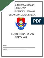 Buku Peraturan Sekolah SK Jenderam