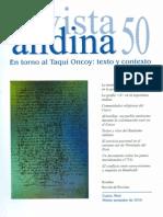 Revista Andina 50