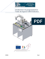 CROB01 - Introduction à La Programmation d'Un Robot à l'Aide Du Logiciel CIROS Robotics