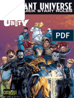 Valiant Universe RPG Quick Start Rules