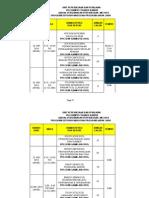 Jadual Pep Mei 2014 Untuk Students