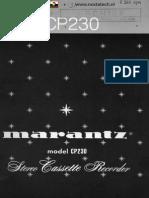 Marantz CP230 Cass