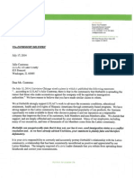 Herbalife letter to Julie Contreras