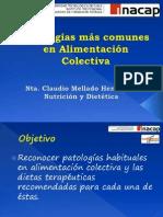 Clase 15 - Patologias Comunes en Alim. Colectiva