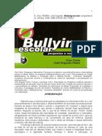 Bullying escolar perguntas e respostas - Versão sem figuras