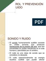 Control y Prevencion Del Ruido