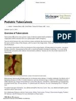 Pediatricee Tuberculosis