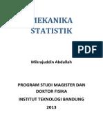 mekanika statistik