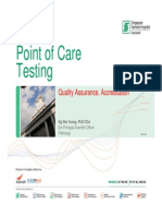 Nwy POCT-1 Quality Assurance (Sghppt2011) 2012-May-03 [Compatibility Mode]