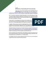 Antecedentes Proceso Zincex de Tecnicas Reunidas