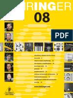 Behringer Full Line Catalog 2008 Portuguese