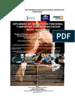 Diplomado en Habilitacion Funcional y Deportiva Post Rehabilitacion 2014 Santiago