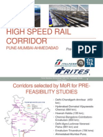 high speed rail in india