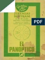80.- Bentham, Jeremias - El Panoptico