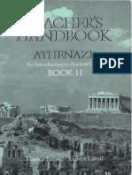 Athenaze Teacher's Handook 2
