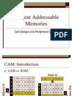 Lecture CAM