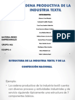 Redes.presentacion de La Industria Textil