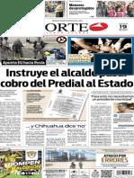Periódico Norte edición del día 19 de julio de 2014