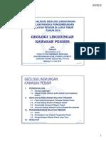 WAHYUDI-ITS Geologi Lingkungan Wilayah Pesisir