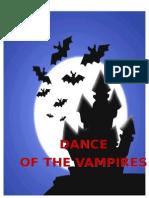 Dance of the Vampires (2nd Script)