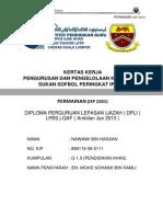 Muka Depan Isp 2201