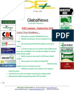 18th July 2014 Daily Global Rice E-Newsletter by Riceplus Magazine.
