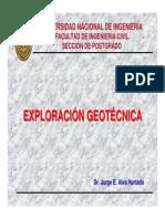 1. Exploración Geotécnica