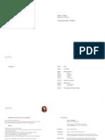 Eszter J Nagy - CV and Portfolio 2014