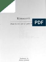 Eugen Ionescu - Rinocerii