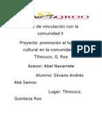 Proyecto de Tihosuco Silvano