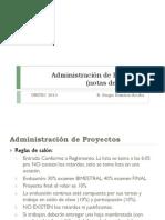 Administración de Proyectos- V14-1 VA Parte 1