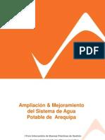 PDF Actividades 177 Ampliacion y Mejoramiento Del Sistema de Agua Potable de Arequipa Metrop