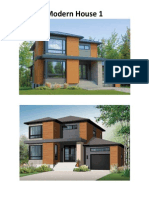Modern Housing Plan