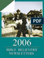 Bible Believers' Newsletters 2006