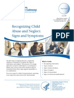 signs of child abuse