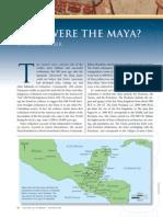 Who Were the Maya