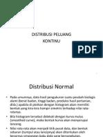 (Ppt-6) Distribusi Peluang Kontinu