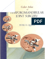 Color Atlas of Temporomandibular Joint Surgery - Quinn