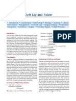 Cleft Lip and Palate Ch 22