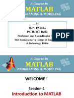 MATLAB Short Notes