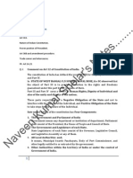 40130251 I Year LLB Exame Note for Constitution of India